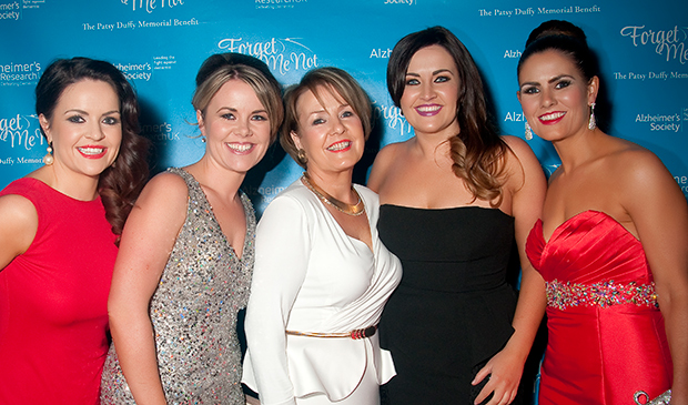 Organisers Lisa Duffy, Aisling Bremner, Janette Duffy, Roisin Duffy and Tanya McGeehan.