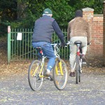 Two Keen Cyclists