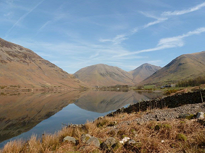 """Race the Tide is going to be a good excuse to go to the Lake District to train. I have some great hiking memories there. This is Wasdale lake near Scafell Pike"" Kirsty, Media team"