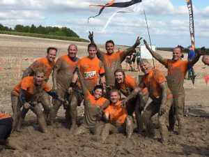 AXA London office - Tough Mudder