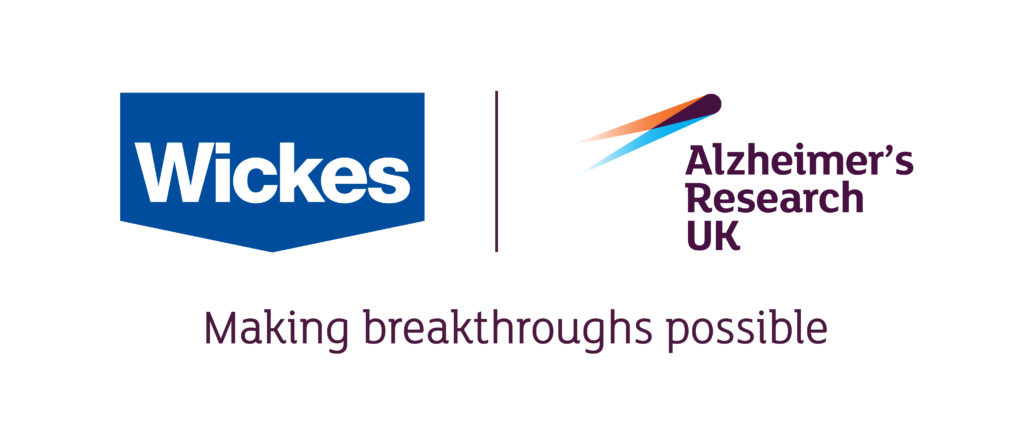From 9 to 23 April, Wickes and Savoo are giving people 2% of the sale value of every order to be donated directly to Alzheimer's Research UK.
